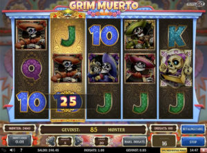 Grim Muerto slotmaskinen SS-03