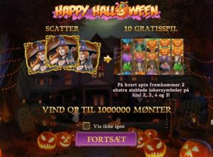 Happy Halloween slotmaskinen SS-01