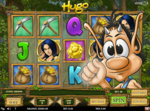 Hugo Spilleautomaten - Screenshot 2