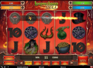 Leprechaun Goes To Hell slotmaskinen SS-07