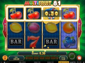 Multifruit 81 slotmaskinen SS-05