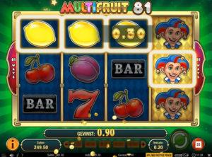 Multifruit 81 slotmaskinen SS-06