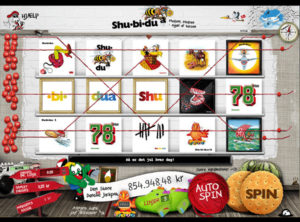 Shu-bi-dua slotmaskinen SS-02