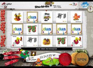 Shu-bi-dua slotmaskinen SS-04