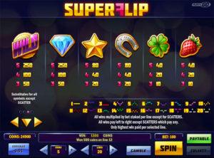 Super Flip slotmaskinen SS-01