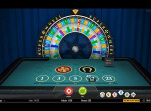 Super Wheel slotmaskinen SS-01