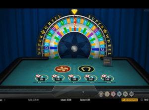 Super Wheel slotmaskinen SS-03