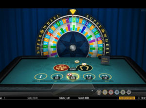 Super Wheel slotmaskinen SS-04