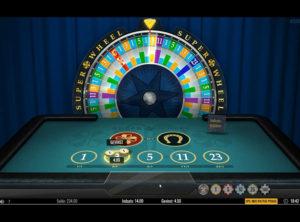Super Wheel slotmaskinen SS-07