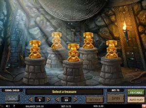 Aztec Idols slotmaskinen SS-06