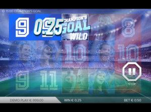 Champions Goal slotmaskinen SS-04
