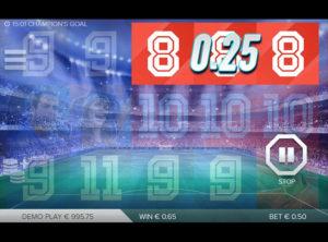 Champions Goal slotmaskinen SS-09