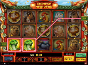 Chinese New Year slotmaskinen SS-05