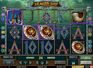 Dragon Ship slotmaskinen SS-05