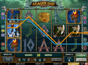 Dragon Ship slotmaskinen SS-07