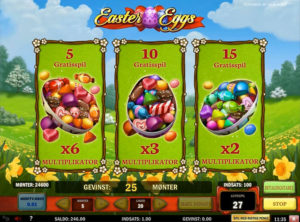 Easter Eggs slotmaskinen SS-03