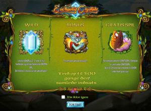 Enchanted Crystals slotmaskinen SS-01