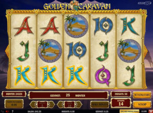Golden Caravan slotmaskinen SS-07