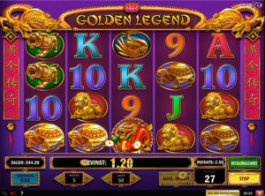 Golden Legend slotmaskinen SS-05