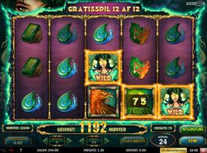 Jade Magician slotmaskinen SS-11