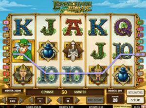 Leprechaun Goes To Egypt slotmaskinen SS-04