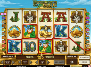 Leprechaun Goes To Egypt slotmaskinen SS-07
