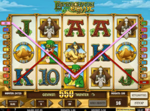 Leprechaun Goes To Egypt slotmaskinen SS-08
