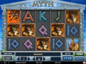 Myth slotmaskinen SS-01