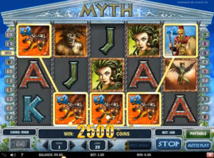 Myth slotmaskinen SS-04