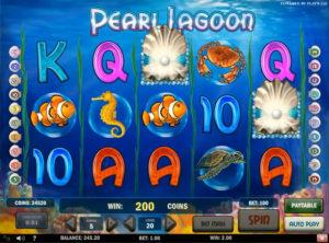 Pearl Lagoon slotmaskinen SS-02