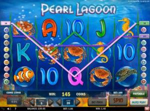 Pearl Lagoon slotmaskinen SS-04