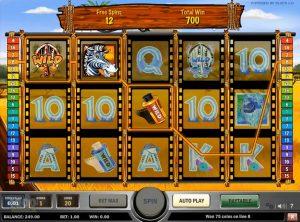 Photo Safari slotmaskinen SS-07