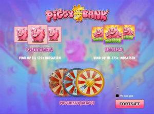 Piggy Bank slotmaskinen SS-01