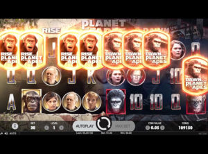 Planet Of The Apes slot SS