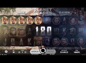 Planet Of The Apes slot SS 7