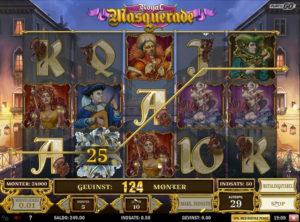 Royal Masquerade slotmaskinen SS-04