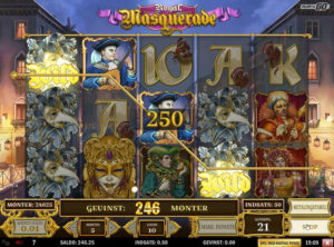 Royal Masquerade slotmaskinen SS-05