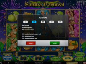 Samba Carnival slotmaskinen SS-04