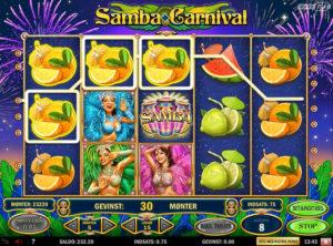 Samba Carnival slotmaskinen SS-06