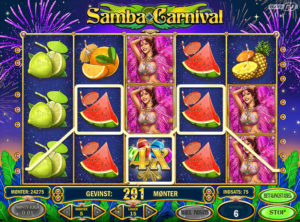 Samba Carnival slotmaskinen SS-09