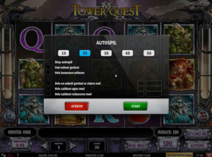 Tower Quest slotmaskinen SS-02