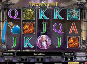 Tower Quest slotmaskinen SS-04