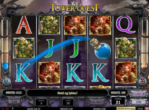 Tower Quest slotmaskinen SS-07