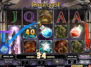 Tower Quest slotmaskinen SS-08