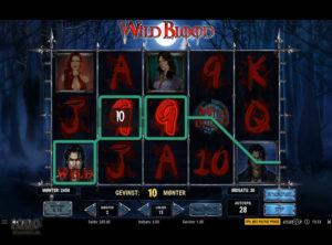 Wild Blood slotmaskinen SS-03