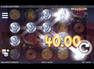 Wild Toro slotmaskinen SS-01