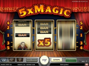 5xMagic slotmaskinen SS-01