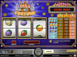 Bell Of Fortune slotmaskinnen SS-01