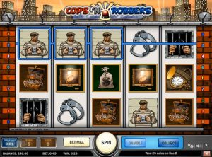 Cops n Robbers slotmaskinen SS-01