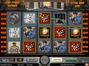 Cops n Robbers slotmaskinen SS-11